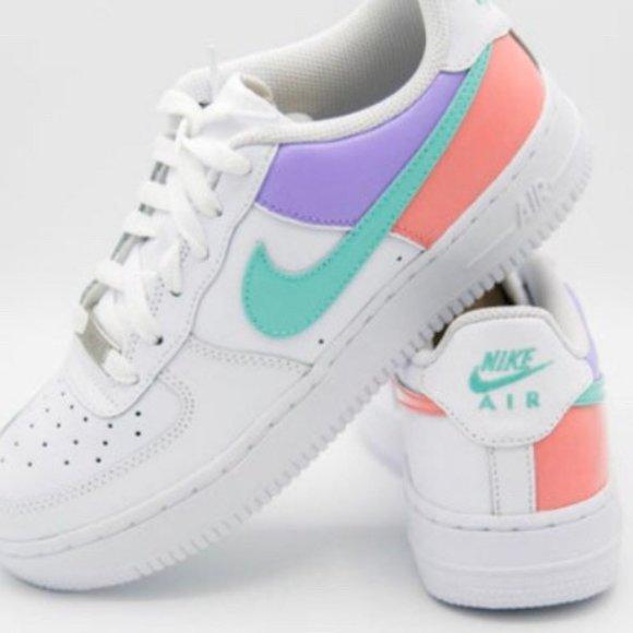 Custom Nike Air Force S Rainbow Pick